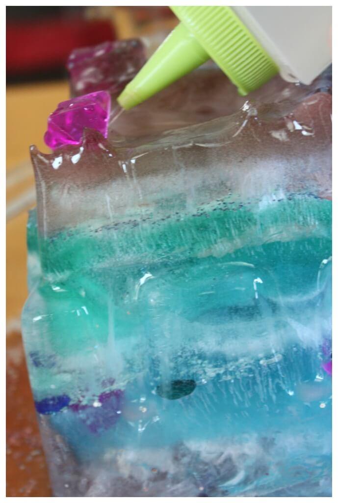Elsas Frozen Castle Ice Melt Experiment Squeeze Bottle