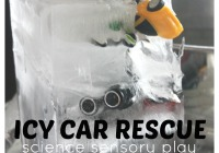 Ice Car Rescue Ice Melt Science Sensory Play