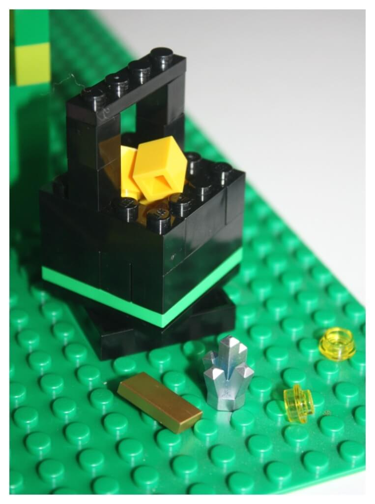 Lego Leprechaun Lego Pot of Gold