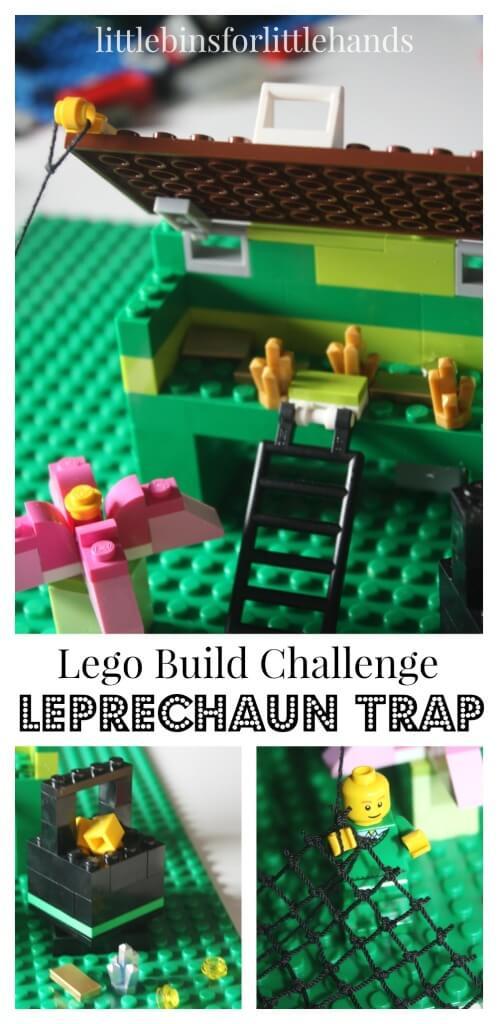 Lego Leprechaun Trap Lego Challenge St Patricks Day