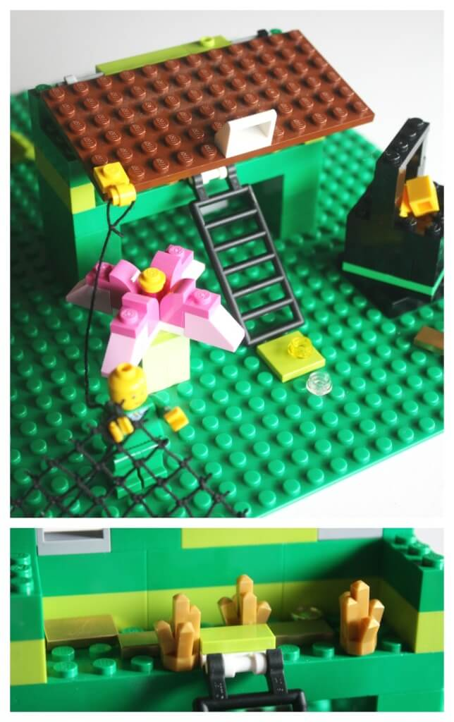Lego Leprechaun Trap Roof Closed Net Pot of Gold