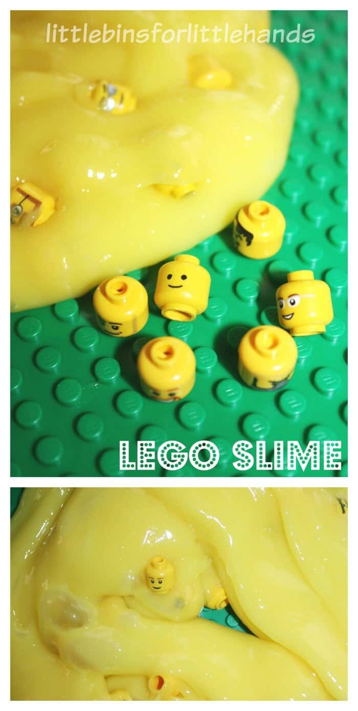Lego Slime Sensory Search and Find Fine Motor Sensory Play