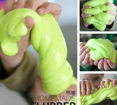 Make Homemade Flubber Slime for Kids