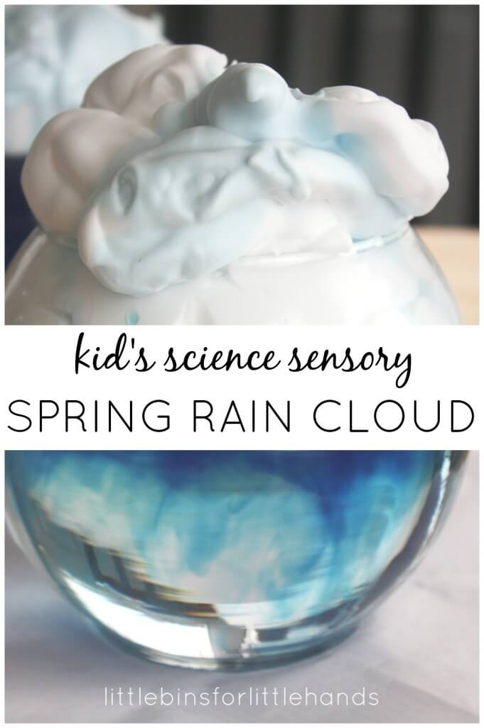 Rain Cloud Spring Science Sensory Play