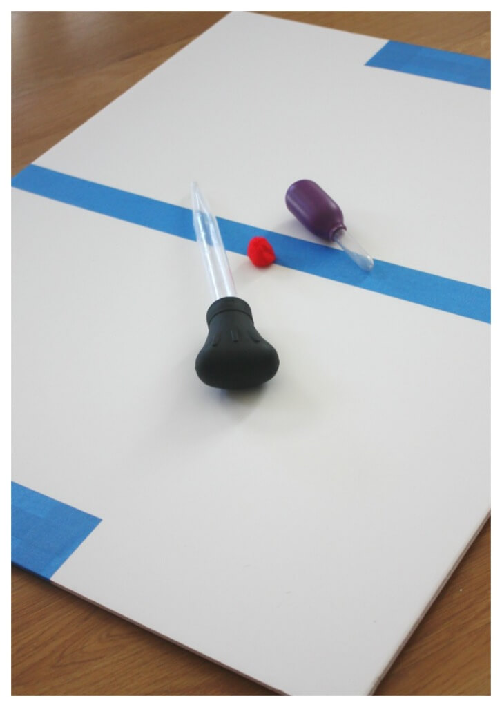 Table Hockey Homemade Game Board