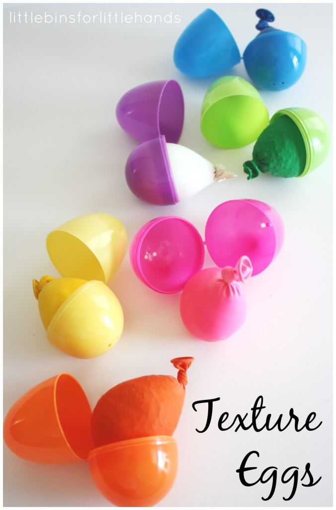 Texture Eggs Easter Plastic Egg Activities Sensory Play