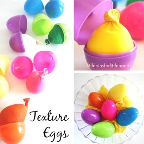 Texture Eggs Easter Sensory Activity for Kids
