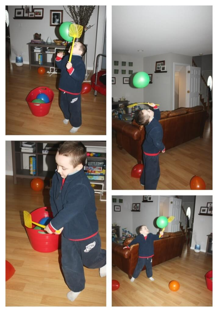 Balloon Tennis Gross Motor Play