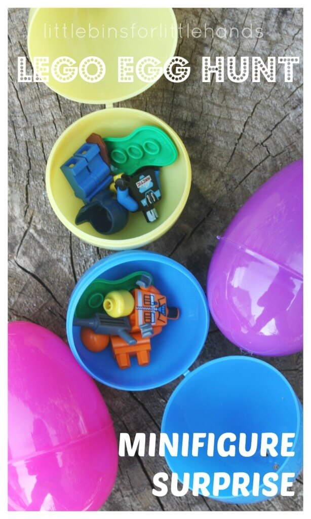 Lego Easter Egg Hunt Minifigure Surprise Eggs Easter Egg Hunt