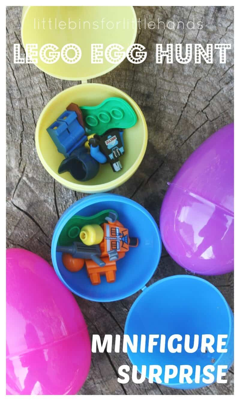 Lego Easter Egg Hunt Minifigure Surprise