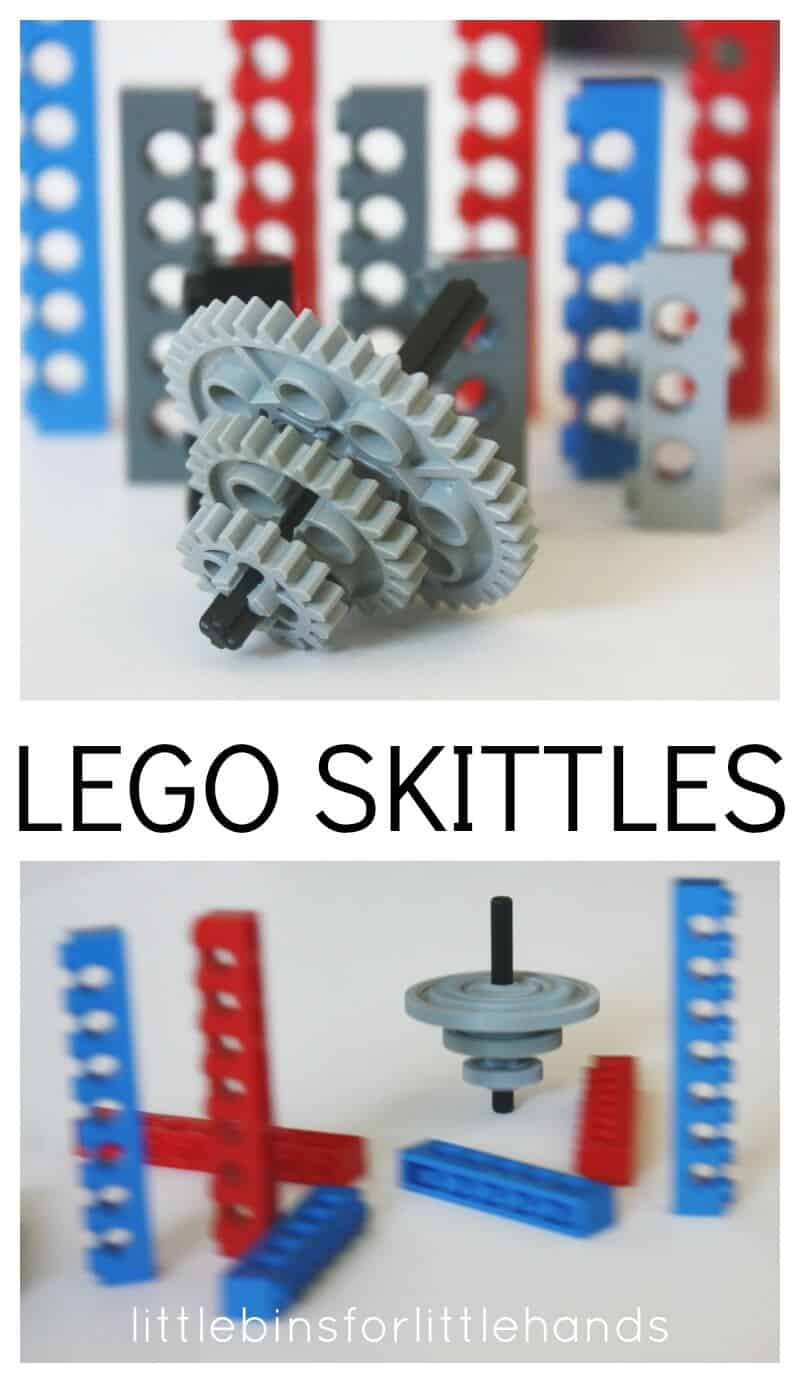 Homemade Lego Skittles Game
