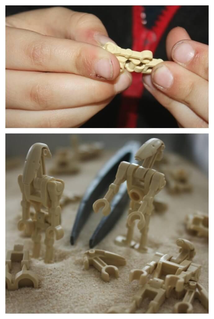 Lego Star Wars Activity Building Droids
