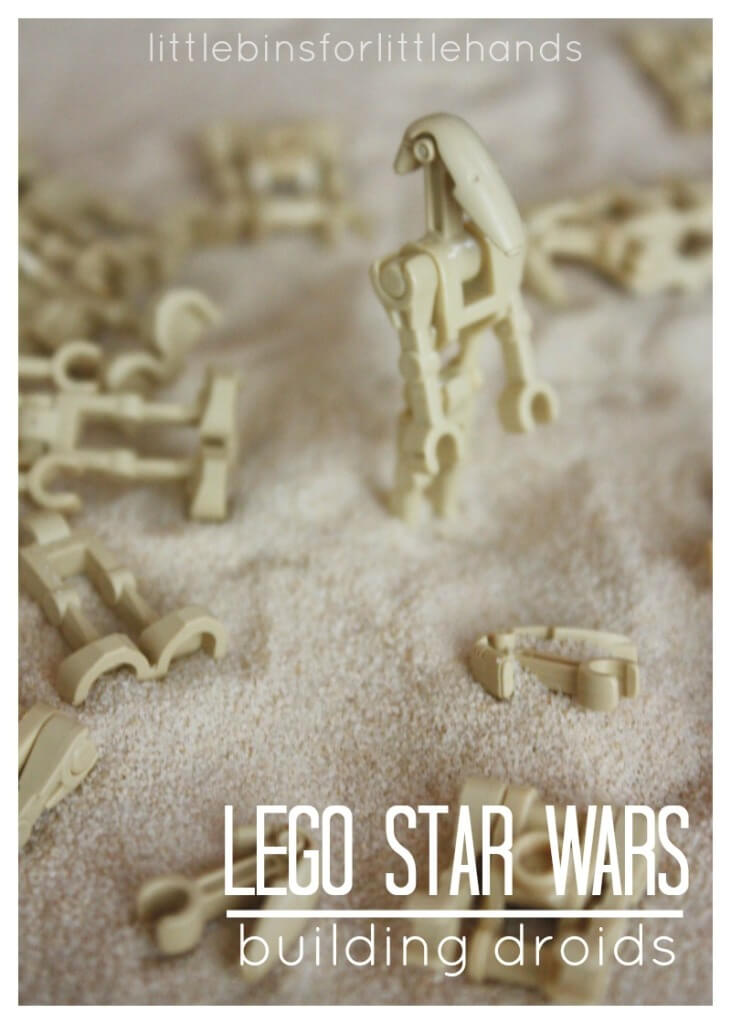 Lego Star Wars Fine Motor Sensory Search