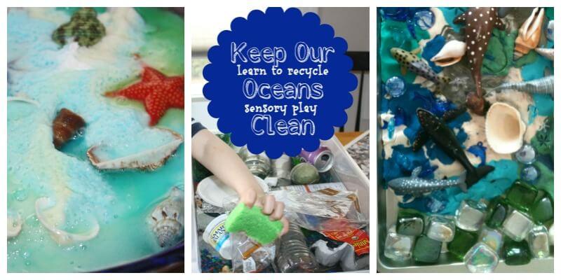 Ocean Theme Baking Soda Science Ocean Pollution Play Dough Ocean Whales