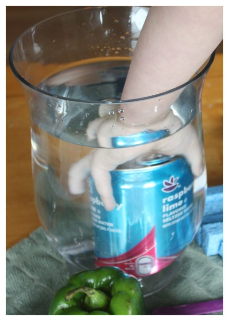 Sink Float Water Science Experiment Making Aluminum Can Sink