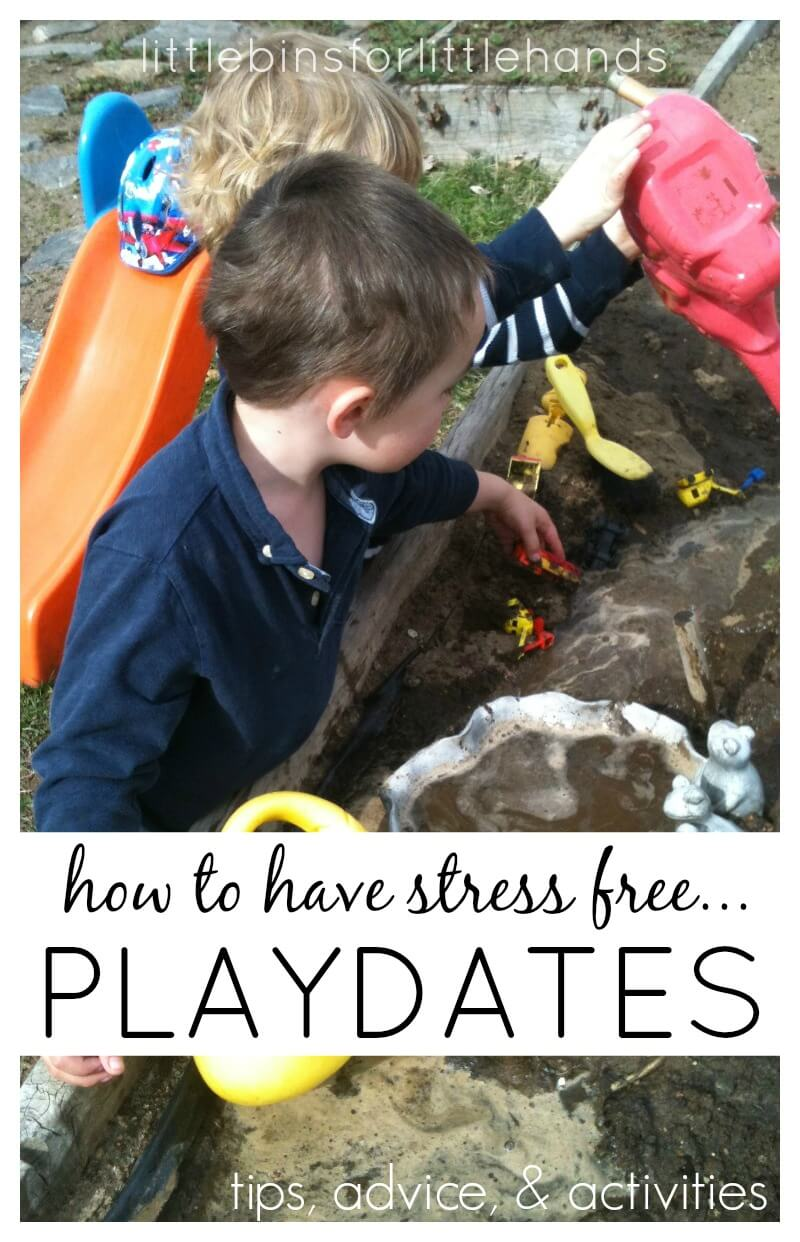 Stress Free Playdates for Kids Tips Advice Activities for play dates
