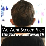 Take Away Television Screen Free