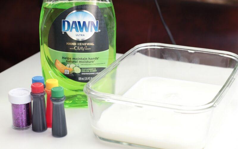 Magic Milk Science Experiment Supplies