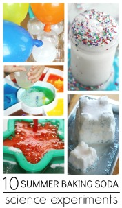 10 Summer Baking Soda Experiments baking Soda Science Activities
