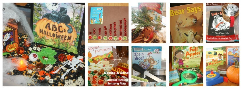 30 Book Activities Seasonal Fall Winter Book Play