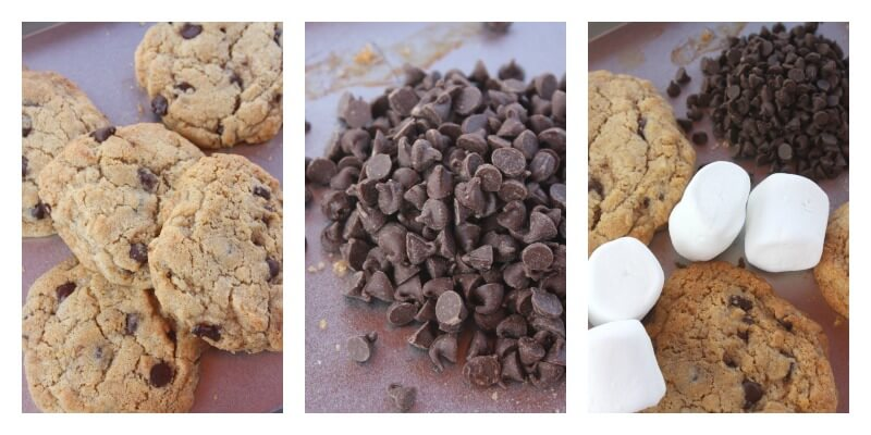 Cookie Smores Recipe Ingredients