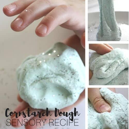 Borax Free Slime: Cornstarch Dough Slime