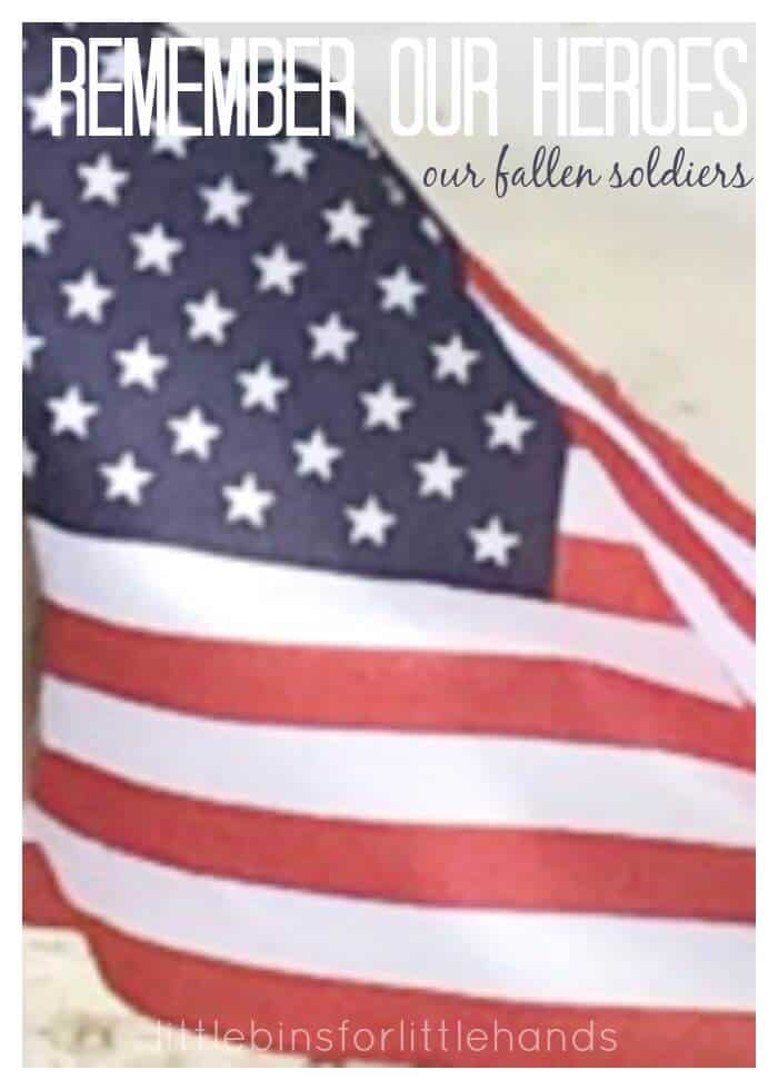 Fallen Soldiers Remember Our Heroes Memorial Day and Everyday