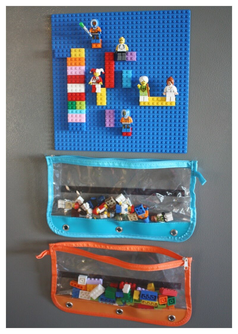 Diy Lego Board Magnetic Board For Refrigerator