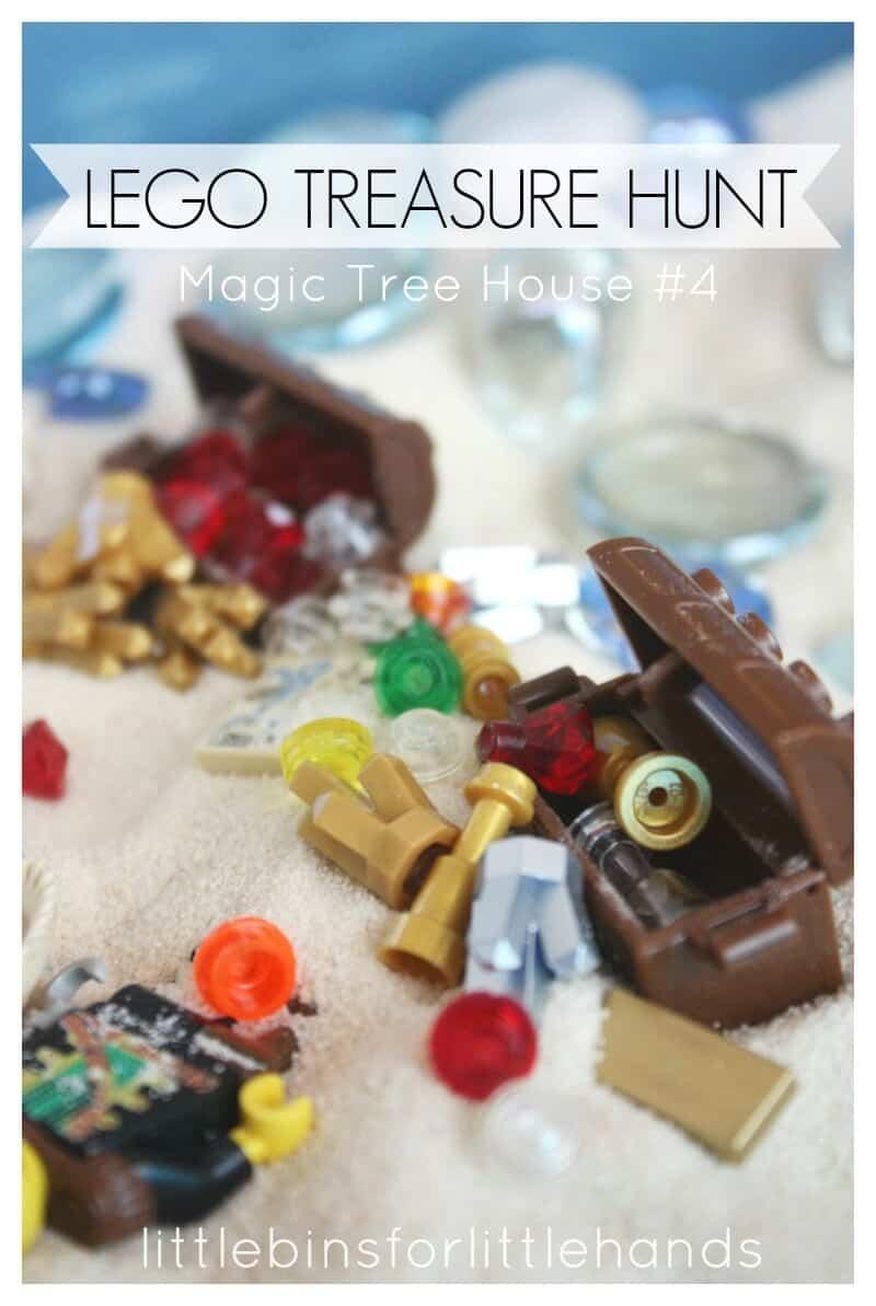 Lego Treasure Hunt Magic Tree House Storytelling Play