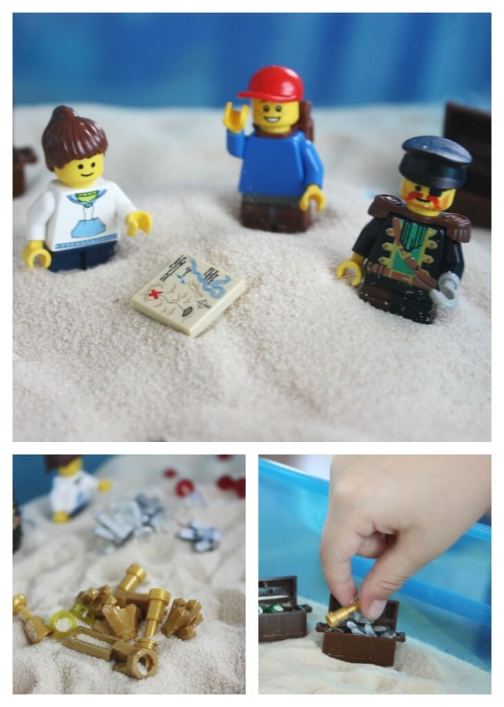 Lego Treasure Hunt magic Tree House Pirate Book Activity