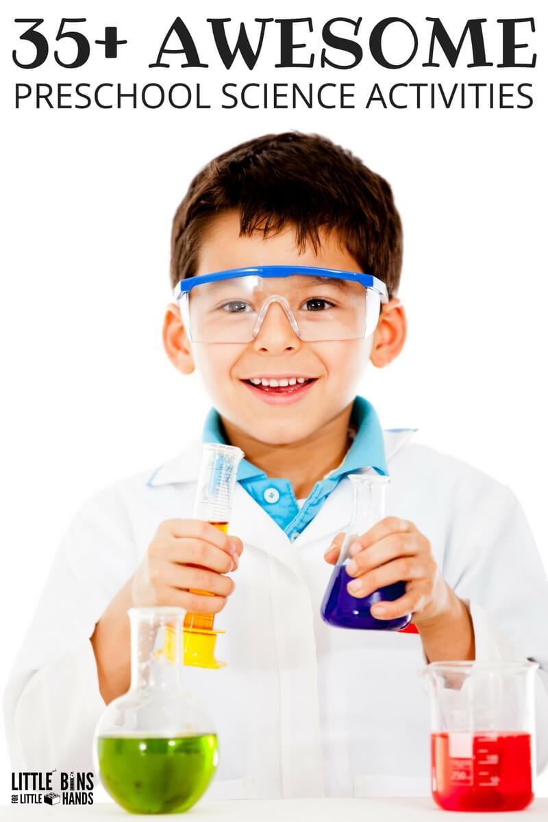 Preschool Science Activities and Kindergarten Science Activities and Experiments for Preschool STEM - Kindergarten Science Project