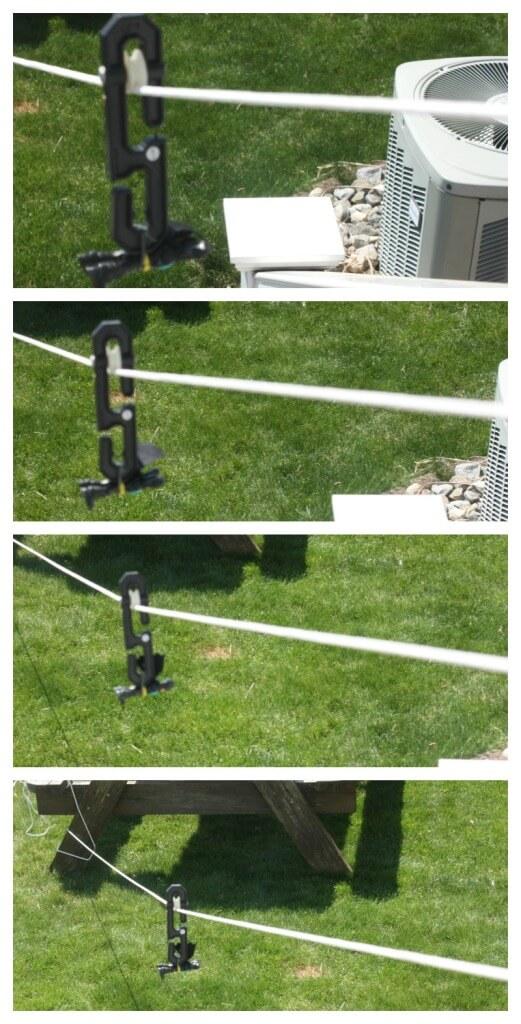 Toy Zip Line Homemade Outdoor Play Activity Homemade Zip Line