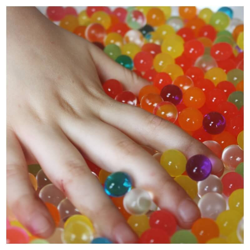Water Beads Tactile Sensory Play