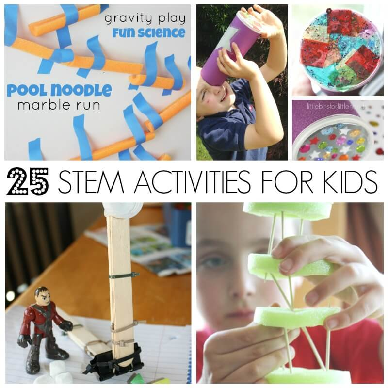 25 STEM activities for kids