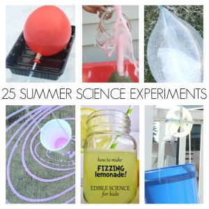 25 Summer Science Experiments