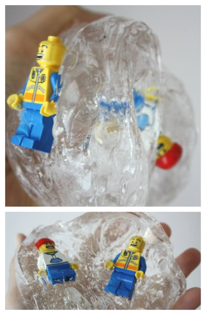 Borax Slime Clear Glue Recipe Science Activity Lego for Kids