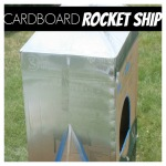 Cardboard Box Rocket Ship