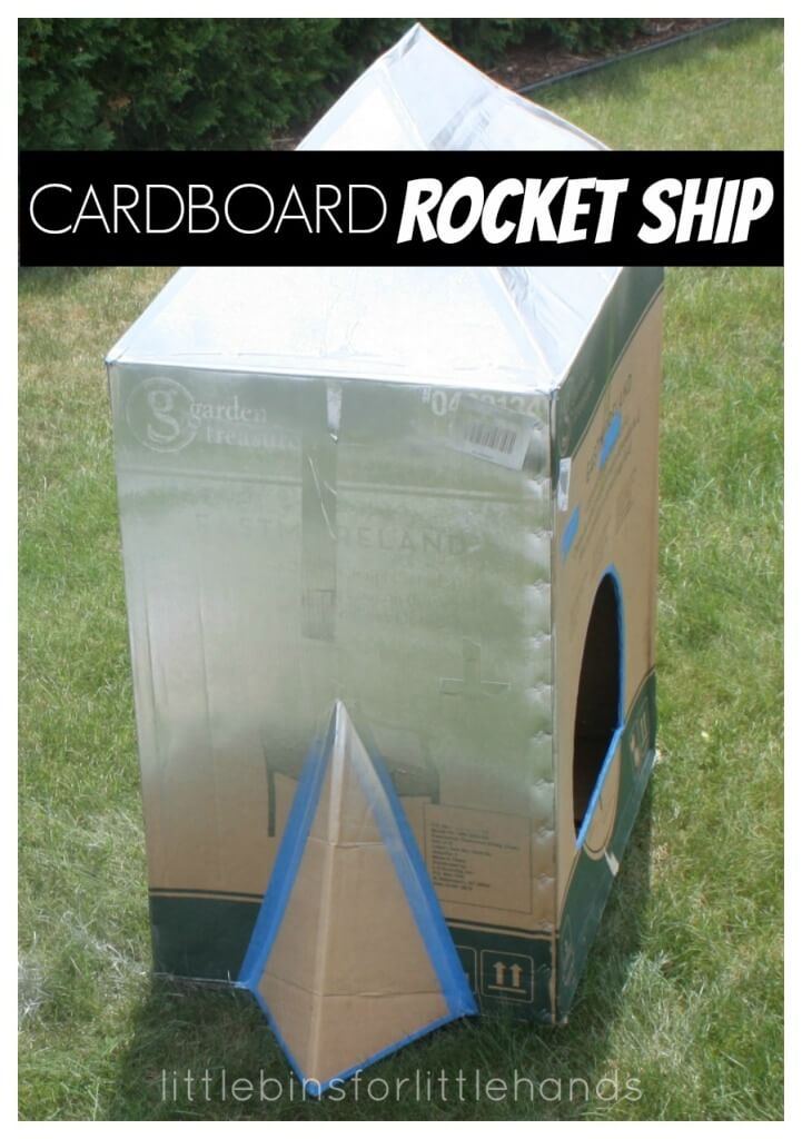 Cardboard Box Rocket Ship How To Make a Cardboard Box Rocket Ship