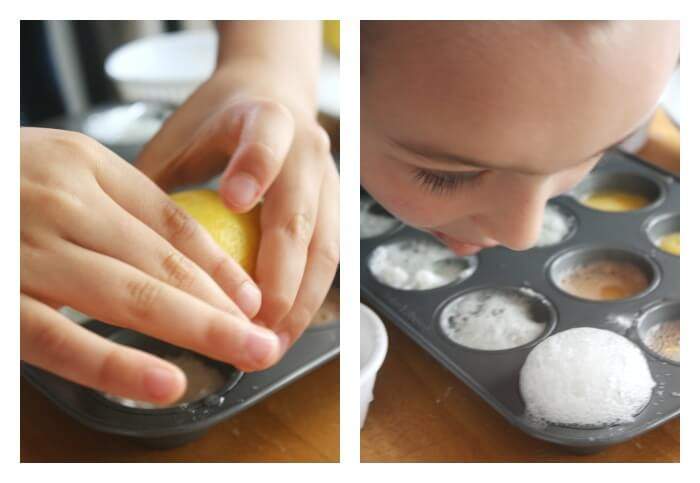 Citrus Chemical Reactions Smelling Lemon Reaction