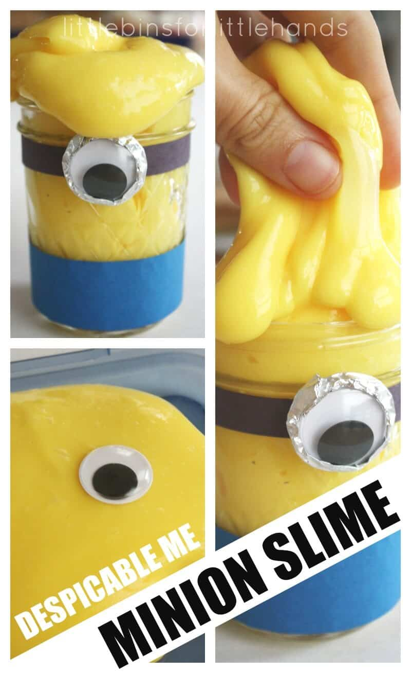 Minion Slime Recipe for Despicable Me Movie