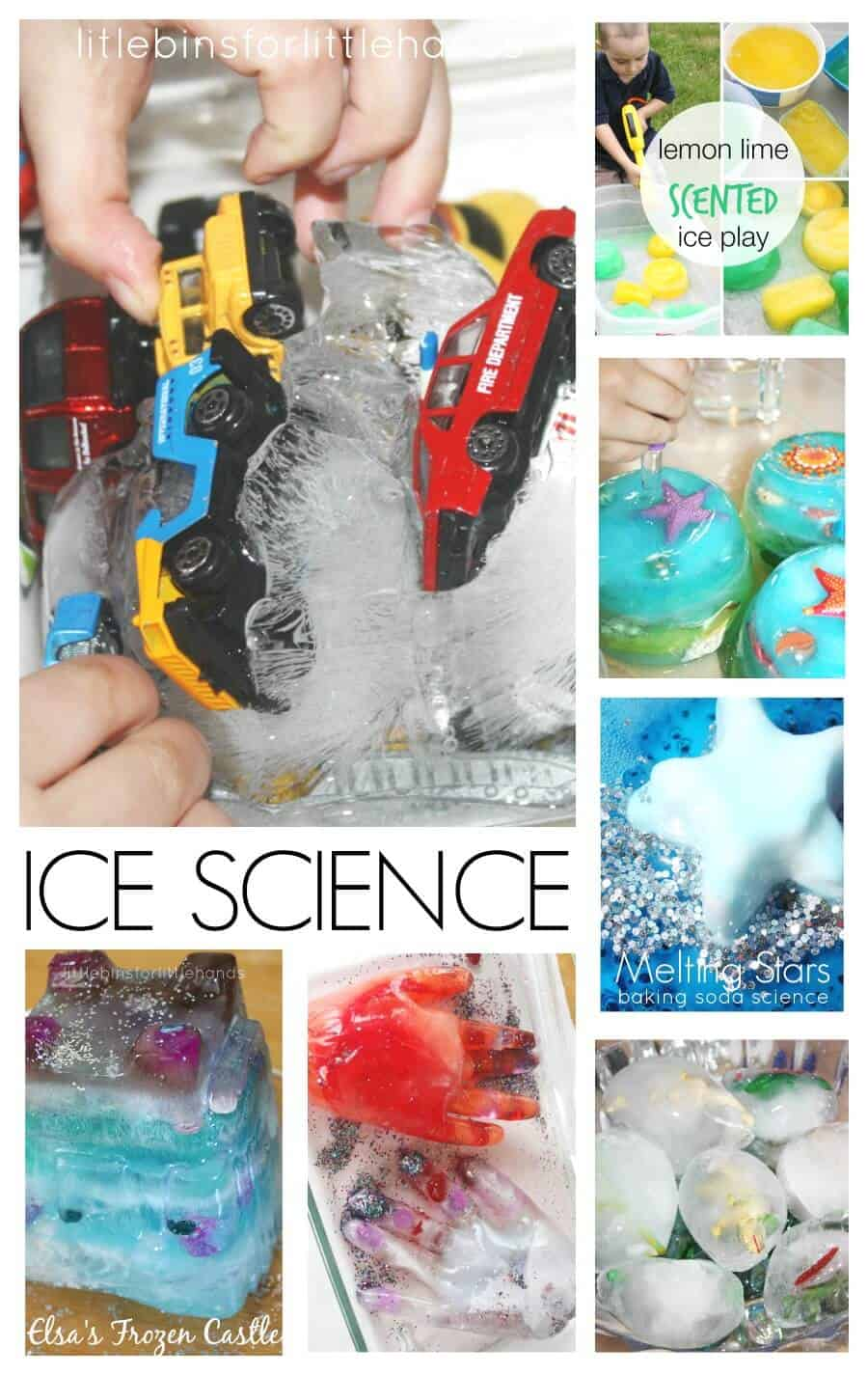 20 Melting Ice Science Activities