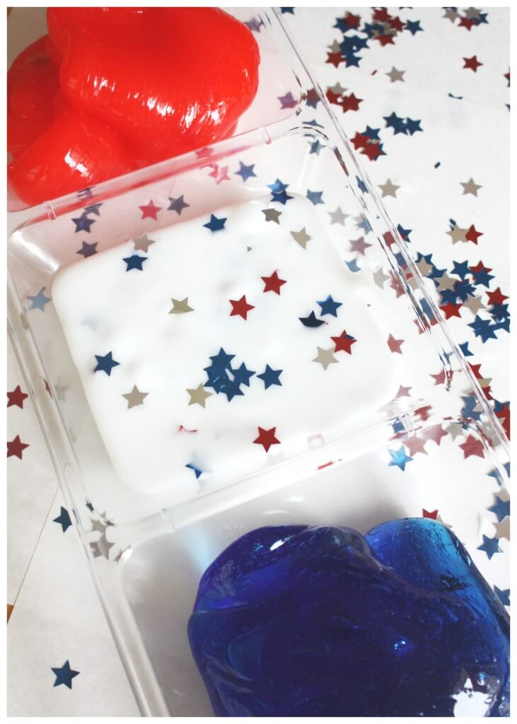 July 4th Slime Activity Summer Science