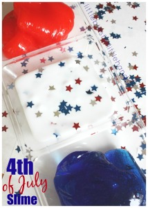 July 4th Slime Science Activity Summer Science