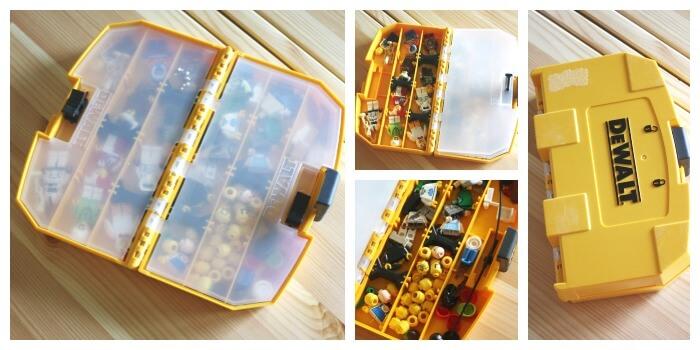 Lego Organization Ideas Minifigure Storage Box Travel Minifigure