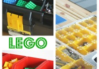 Lego Organization Ideas from Hardware Store