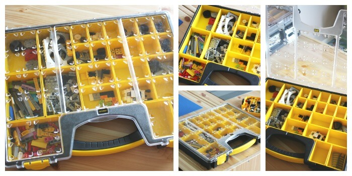 Lego Organization Ideas From Hardware Store Nail And Screw Storage Boxes