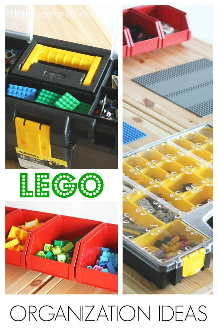 Delicieux How To Store LEGO Organization Ideas And Brick Storage Solution Ideas For  Kids And Families.