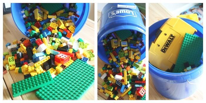 Lego Organizations Idea Plastic Bucket Painters Bucket