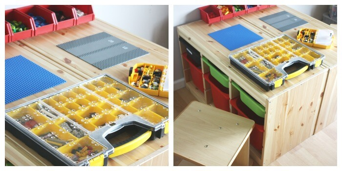 Lego Play Space Idea Lego Organization Lego Table