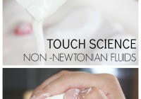 Non Newtonian Fluids Touch Science Activity STEAM